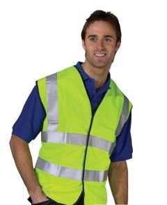 Yellow High Visibility Waistcoat Large