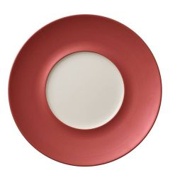 "Villeroy & Boch Copper Glow Marchesi Flat Plate Small Well (Ext) 11.4/5.7"" / 29/14.5cm"