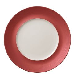 "Villeroy & Boch Copper Glow Marchesi Flat Plate Medium Well  (Ext) 11.4/7.1"" / 29/18cm"