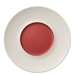 "Villeroy & Boch Copper Glow Marchesi Flat Plate Small Well  (Int) 11.4/5.7"" / 29/14.5cm"