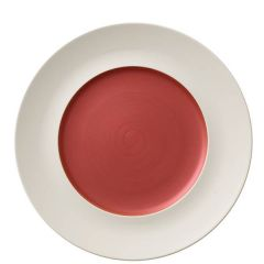"Villeroy & Boch Copper Glow Marchesi Flat Plate Medium Well  (Int) 11.4/7.1"" / 29/18cm"