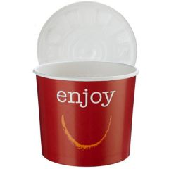 *Clearance* Enjoy Eatwell Food Container & Lid 12oz / 30cl