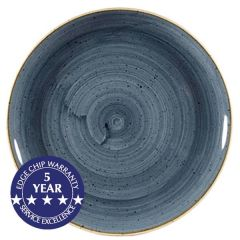 """Churchill Stonecast Blueberry Coupe Plate 11.25"""" / 28.8cm"""
