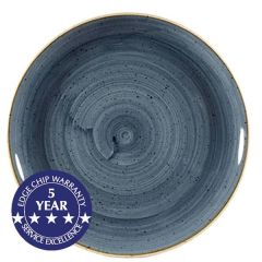 """Churchill Stonecast Blueberry Coupe Plate 10.25"""" / 26cm"""