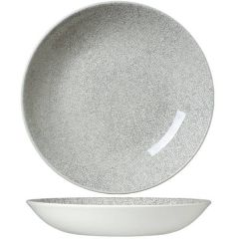 "Steelite Ink Crackle Grey Coupe Bowl 10"" / 25.5cm"