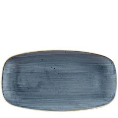 "Churchill Stonecast Blueberry Oblong Plate 14x7.25"" / 35x18.5cm"