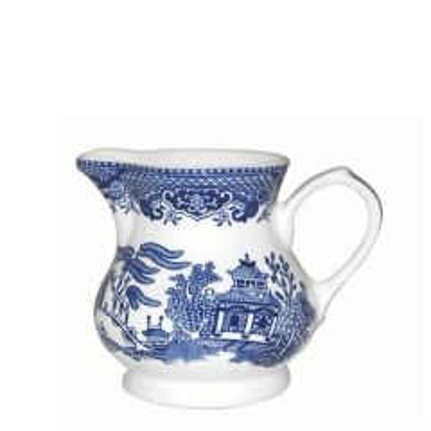 Churchill Willow Pattern Cream / Milk Jug 8oz / 23cl