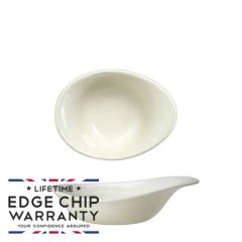 "Steelite Scape White Deep Bowl 5"" / 13cm, 4oz / 11.2cl"