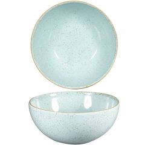 """Churchill Stonecast Duck Egg Blue Noodle Bowl 7.25"""" / 18.3cm"""
