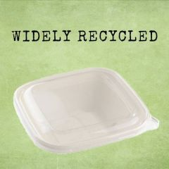 Sabert rPET Clear Lid 36x36cm (for 4.5 & 7Ltr Square Catering Bowls)