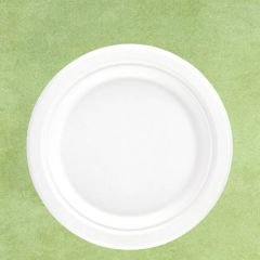 """Bagasse Eco-Friendly Round Plate 9"""" / 23cm"""