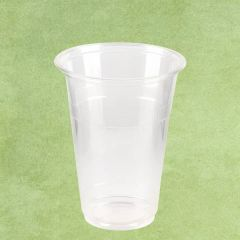 PLA Eco-Friendly Smoothie Cup Clear 12oz / 35cl
