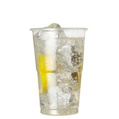 Disposable Plastic Glass 12oz / 34cl Lined at 10oz (Half Pint) / 28cl