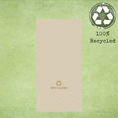 Tork Natural '100% Recycled' 8 Fold Lunch Napkin 2ply 33cm