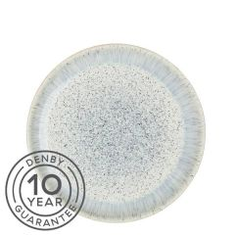 "Denby Halo Speckle Coupe Plate 10.25"" / 26cm"