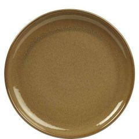 "Brown Terra Stoneware Coupe Plate 10.75"" / 27.5cm"