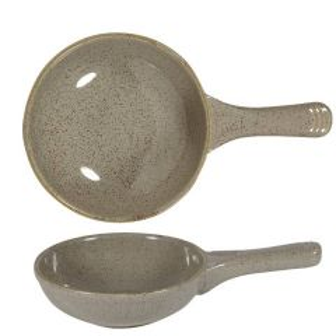 "Churchill Stonecast Peppercorn Grey Small Skillet Pan 9"" / 23cm, 13oz / 37cl"