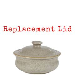 Churchill Stonecast Peppercorn Grey Replacement Lid For Lidded Stew Pot