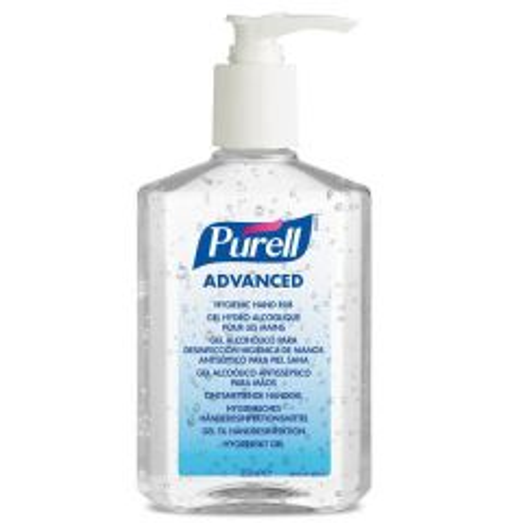 Purell  Hygienic Clear Hand Rub Pump Bottle 300ml