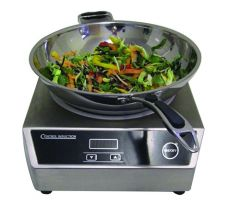 Control Countertop Wok Induction Unit with Wok 3kW 340x440x130mm