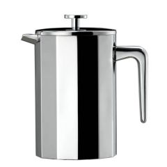 Elia 8 Cup 12 Sided Double walled Cafetiere 18/10