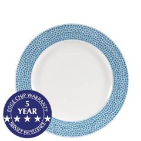 "Churchill Isla Ocean Blue Plate 8.25"" / 21cm"