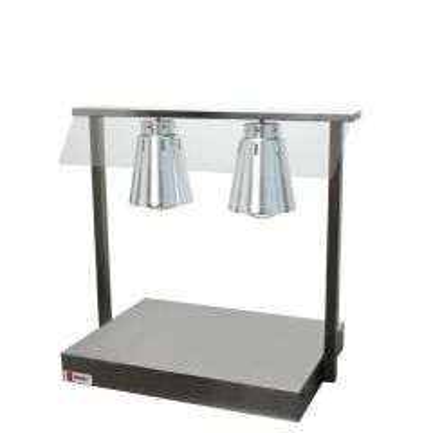 Parry MODular 2 Lamp Heated Display 825x505x735mm