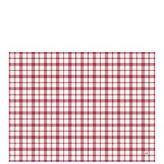Duni Giovanni Red Paper Placemats 30x40cm