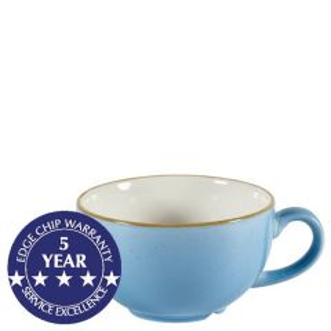 Churchill Stonecast Cornflower Blue Cappuccino Cup 8oz / 22.7cl