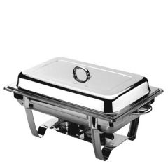 Stainless Steel 1/1 Gastronorm Chafing Dish 63.5x36x33cm