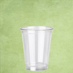 Disposable rPET Smoothie Cup Clear Straight Shape 7oz / 20cl