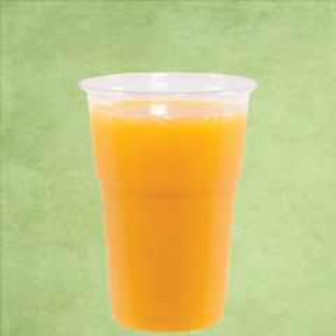 Disposable rPET Smoothie Cup Clear Tulip Shape 12oz / 35cl