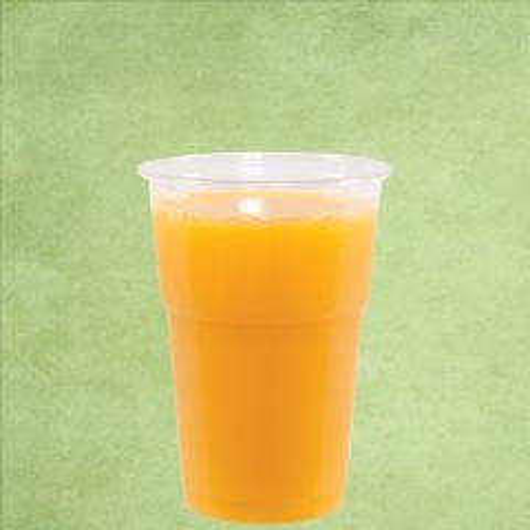Disposable rPET Smoothie Cup Clear Tulip Shape 10oz / 30cl
