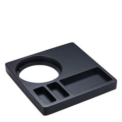 Tongwell Bamboo Welcome Tray in Black Finish 26x26x3cm