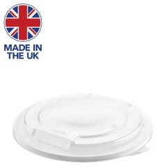 Hot Deli Deluxe Clear PP Microwaveable Round Lid 191mm