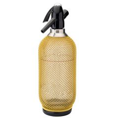 Harlequin Gold Soda Syphon 35oz / 1Ltr