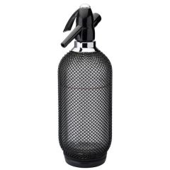 Harlequin Black Soda Syphon 35oz / 1Ltr