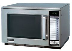 Sharp Microwave 1900 Watt Heavy Duty Touch Control