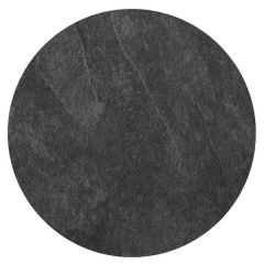 """Roltex Polyester Core Round S-Plank Serving Platter Slate Effect 16"""" / 40cm"""