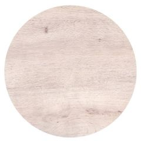 "Roltex Polyester Core Round S-Plank Serving Platter Oak Effect 16"" / 40cm"