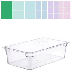 Clear Polycarbonate Gastronorm 1/1 150mm