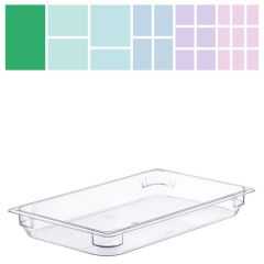 Clear Polycarbonate Gastronorm 1/1 65mm
