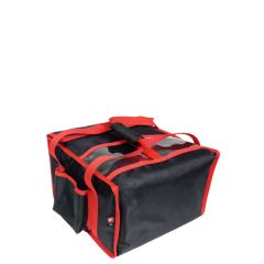 """Heated Delivery Takeaway Cater Bag (4 x 12"""" Pizza) 36x36x21cm"""