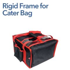 """Rigid Frame Insert for Heated Cater Bag (4 x 12"""" Pizza)"""