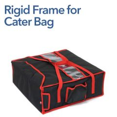 """Rigid Frame Insert for Heated Cater Bag (4 x 17"""" Pizza)"""