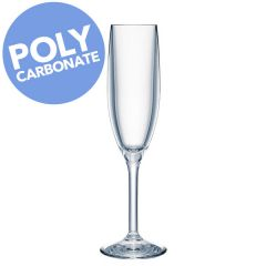 Strahl Polycarbonate Design + Contemporary Champagne Flute 5.5oz / 16cl