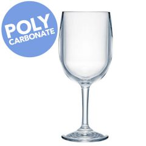 Strahl Polycarbonate Design + Contemporary Classic Wine Glass 13oz / 37cl
