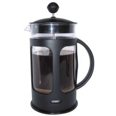 Cafe Ole Everyday Cafetiere Black Dishwasher Safe Plastic 3 Cup