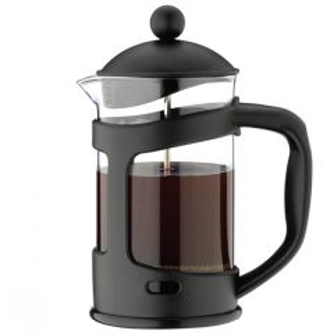 Cafe Ole Everyday Cafetiere Black Dishwasher Safe Plastic 6 Cup
