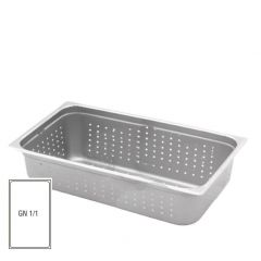 Stainless Steel Perforated Gastronorm 1/1 20mm